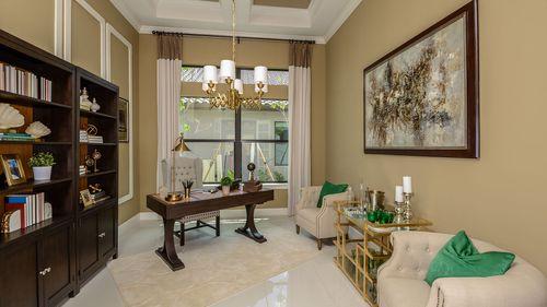 Study-in-Francesco IV-at-Legacy Estates at Esplanade on Palmer Ranch-in-Sarasota