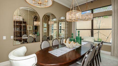 Dining-in-Francesco IV-at-Legacy Estates at Esplanade on Palmer Ranch-in-Sarasota