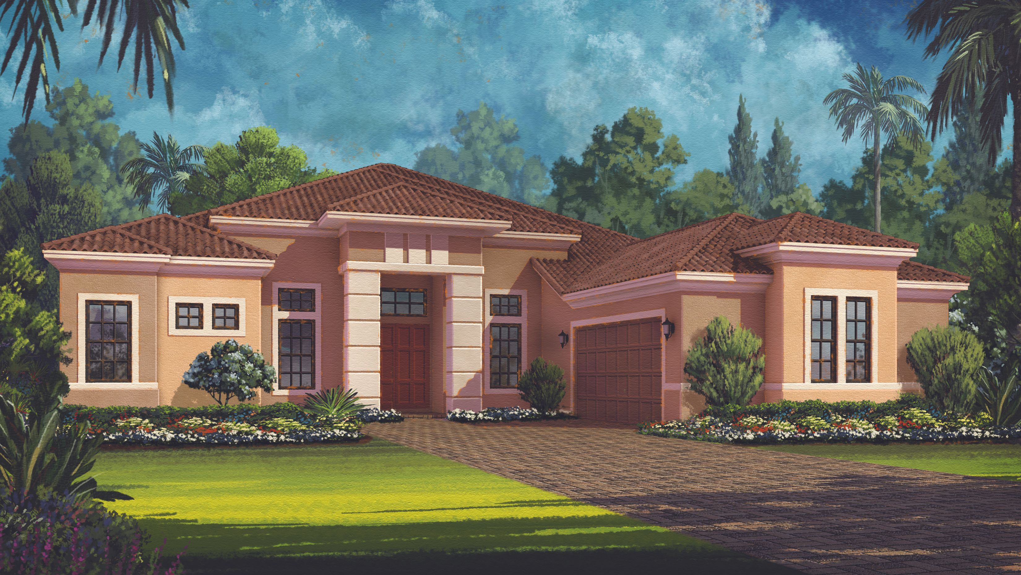 Mercede iv plan sarasota florida 34238 mercede iv plan for Palmers homes