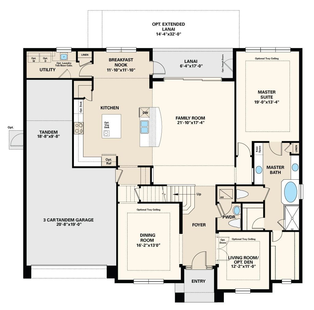 Plan Brandon Florida 33510 Plan at Arbor Oaks by Taylor Morrison – Morrison Homes Floor Plans