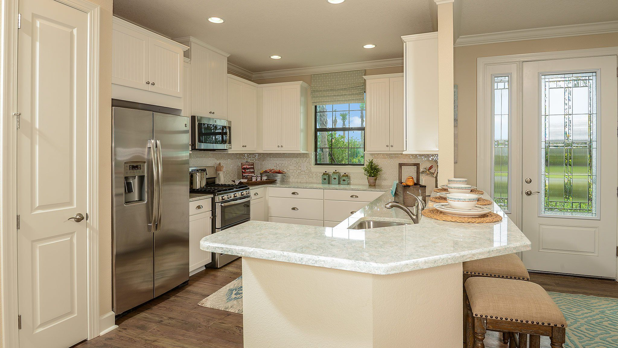 Kitchen-in-Roma-at-Esplanade at Starkey Ranch-in-Odessa