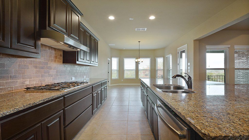 Kitchen-in-Ellington-at-Traditions at Vizcaya-in-Round Rock