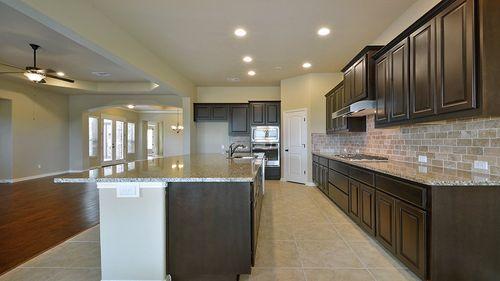 Kitchen-in-Ellington-at-Reunion Ranch-in-Austin