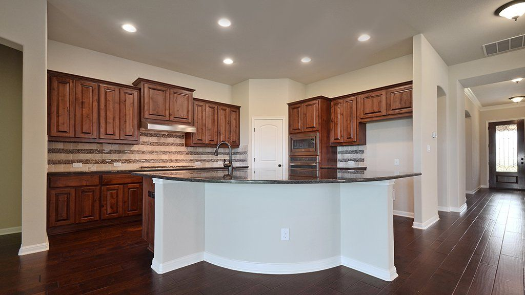 Kitchen-in-Preston-at-Crystal Falls Grand View, Canyon Bend & Overlook-in-Leander
