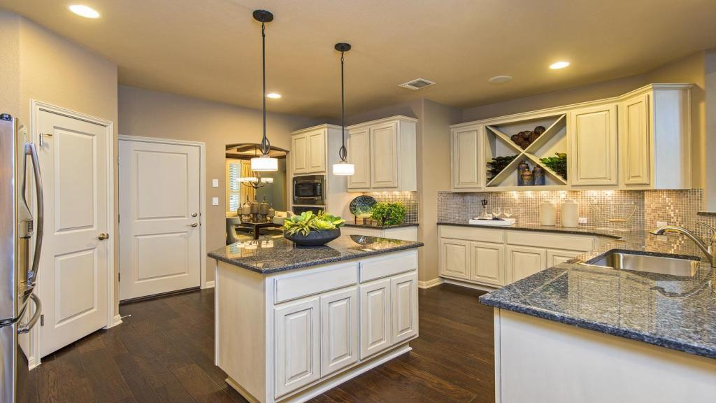 Kitchen-in-Meridien-at-Crystal Falls Grand View, Canyon Bend & Overlook-in-Leander