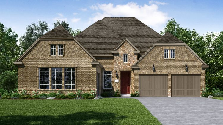 Exterior featured in the Del Mar By Taylor Morrison in Dallas, TX