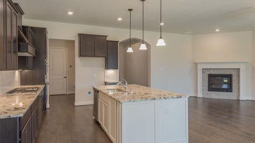Kitchen-in-Greenbriar-at-Waterford Point at the Tribute-in-The Colony