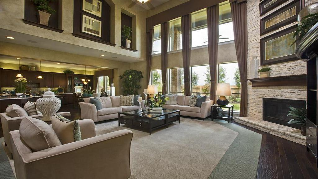 Greatroom-and-Dining-in-Marseille-at-Avalon at Riverstone - 80' Homesites-in-Sugar Land