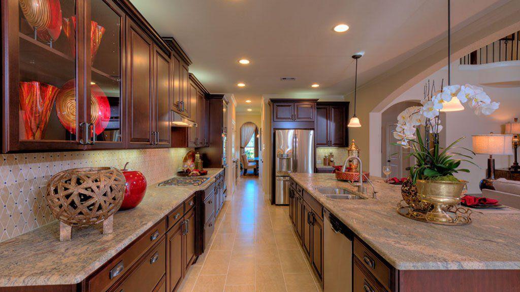 Kitchen-in-Bevington-at-Stillwater on Lake Houston - 60' Homesites-in-Houston