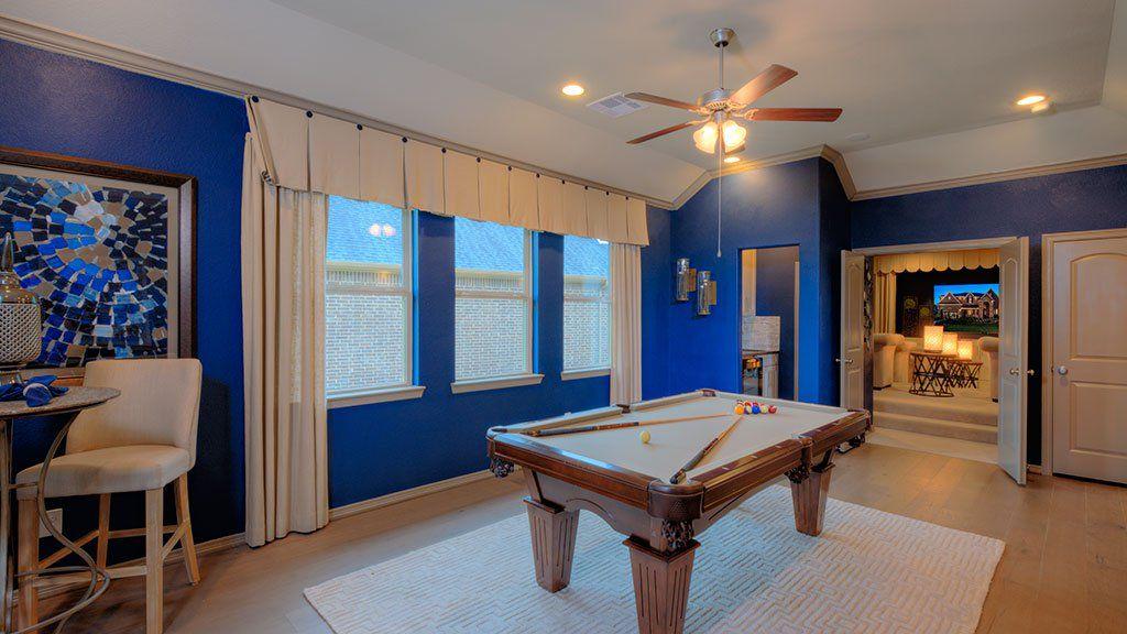 Recreation-Room-in-Rousseau-at-Stillwater on Lake Houston - 70' Homesites-in-Houston