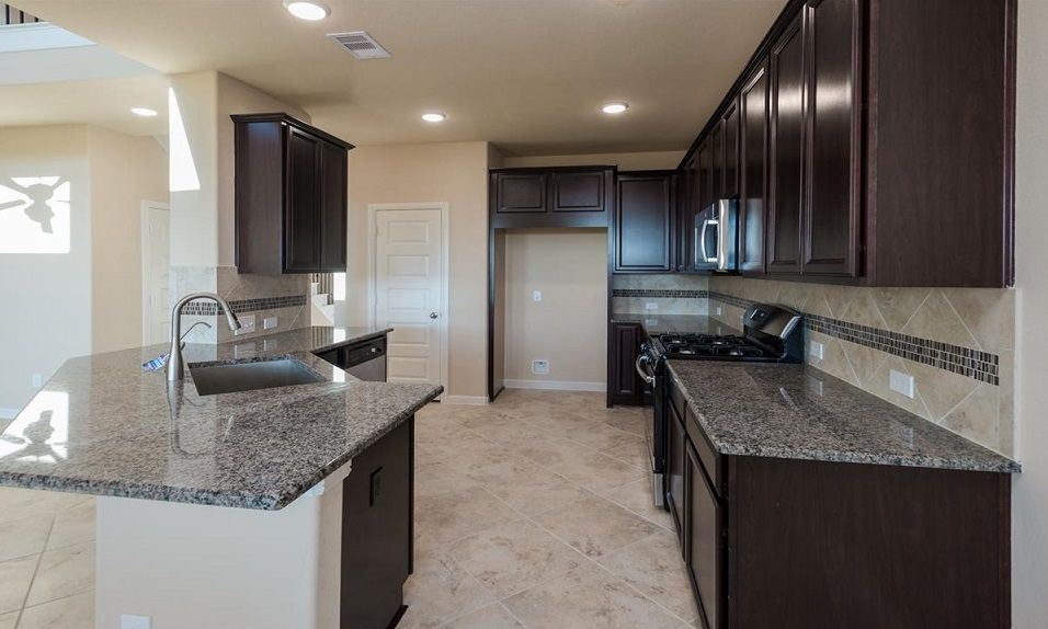 Kitchen-in-Oakdale-at-Grand Vista - 50' Homesites-in-Richmond
