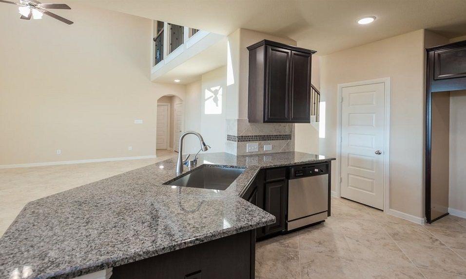 Kitchen-in-Oakdale-at-Grand Vista - 50' Homesites-in-Richmond