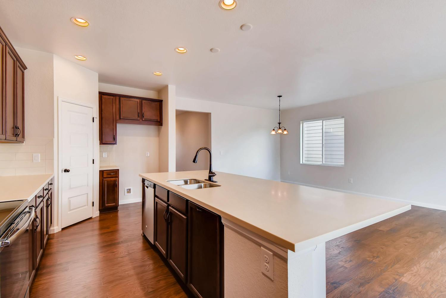 Kitchen-in-Crestone-at-Hearthstone Town Collection-in-Broomfield