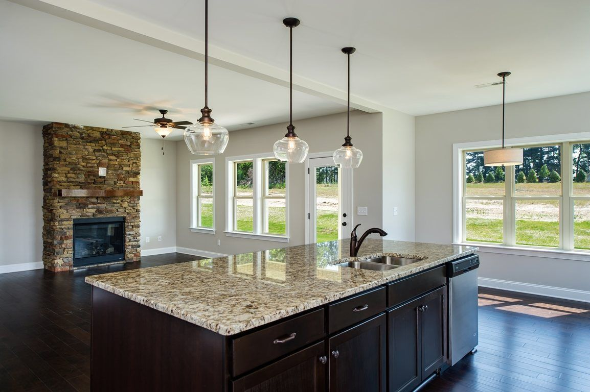 Kitchen-in-Cabot-at-Stone Briar-in-Clayton