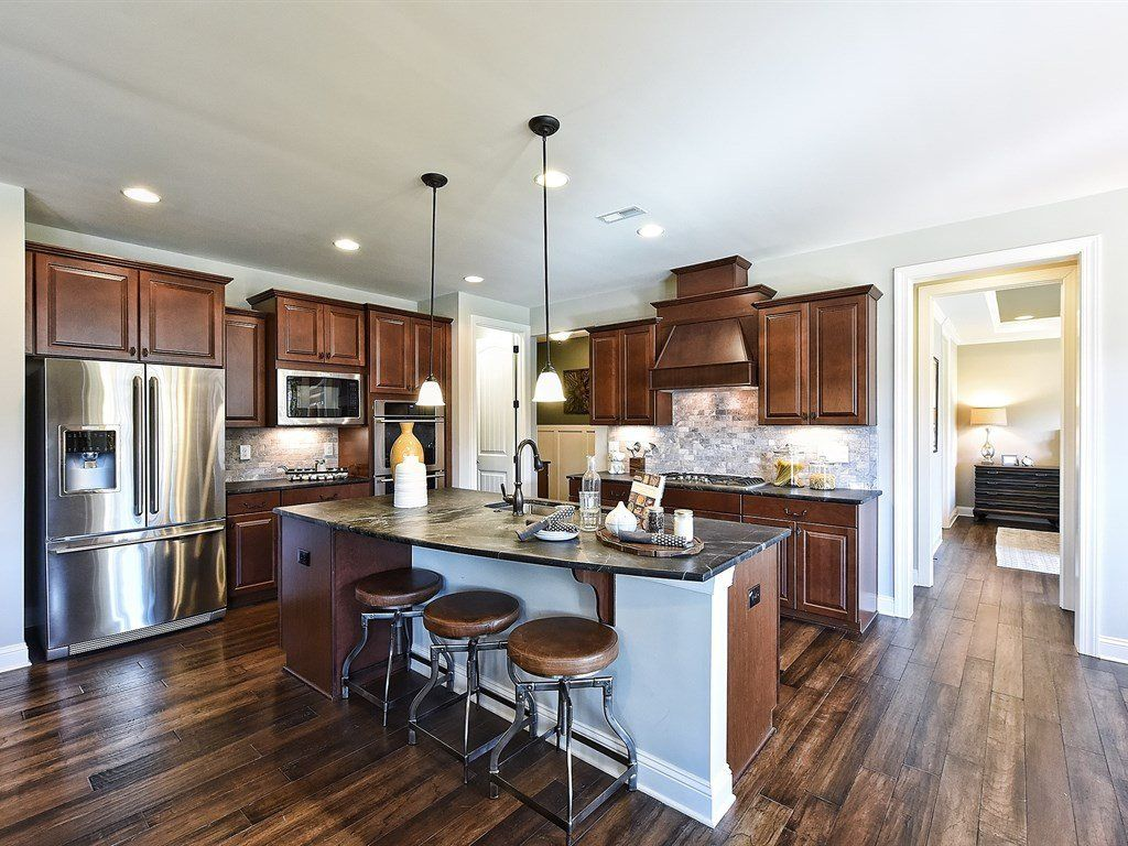 Kitchen-in-Whitman-at-The Villas at Olde Liberty-in-Youngsville
