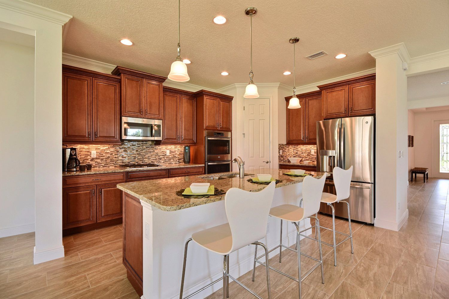 Kitchen-in-Madeira-at-Vitalia at Tradition-in-Port Saint Lucie