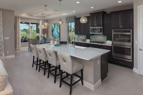 Kitchen-in-Perdido Key-at-Vitalia at Tradition-in-Port Saint Lucie