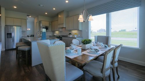 Kitchen-in-Castlewood-at-Valencia on the Lake-in-Little Elm