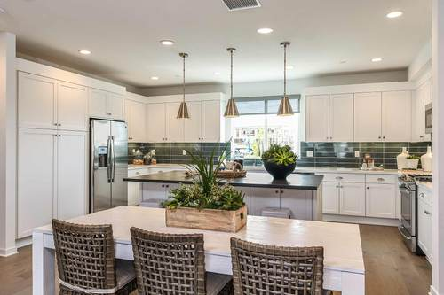 Kitchen-in-Muse Plan 1-at-Muse at Cadence Park-in-Irvine