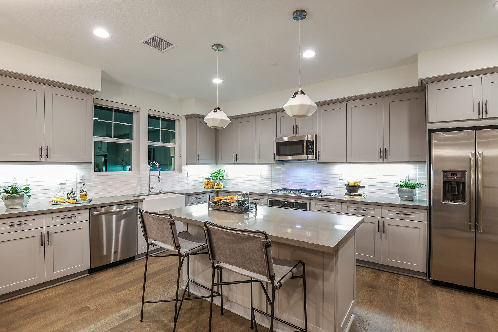 Kitchen-in-Chelsea Plan 3-at-Vintage at Old Town Tustin-in-Tustin