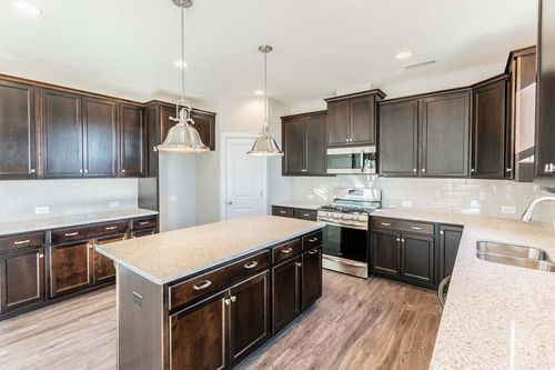 Kitchen-in-Chesapeake-at-Union Grove-in-Indian Trail