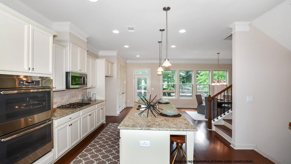 Kitchen-in-Arlington II-at-Townsend at Perimeter-in-Dunwoody