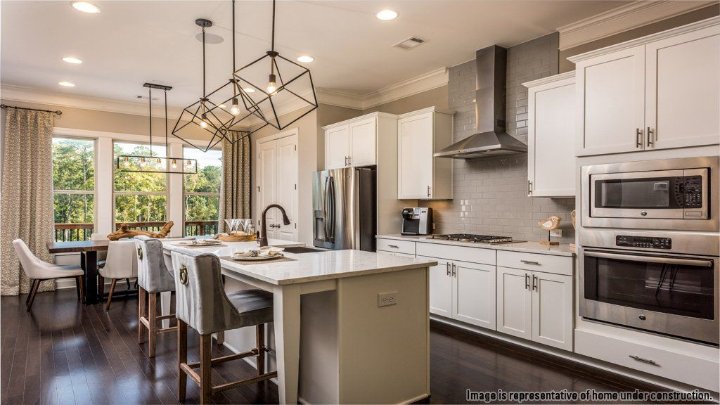 Kitchen-in-Bedford II-at-Townsend at Perimeter-in-Dunwoody
