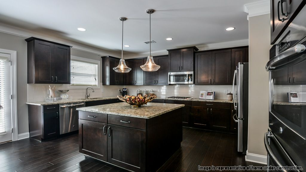 Kitchen-in-Stonebriar-at-Lakeview at Ivy Creek-in-Buford