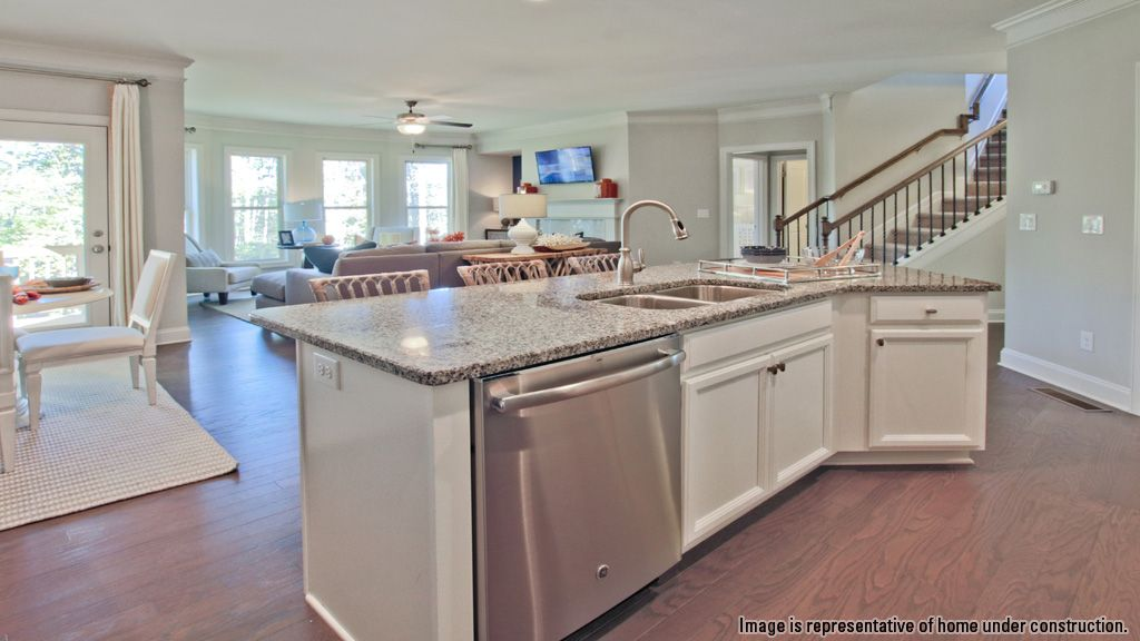 Kitchen-in-Abbey-at-Lakeview at Ivy Creek-in-Buford