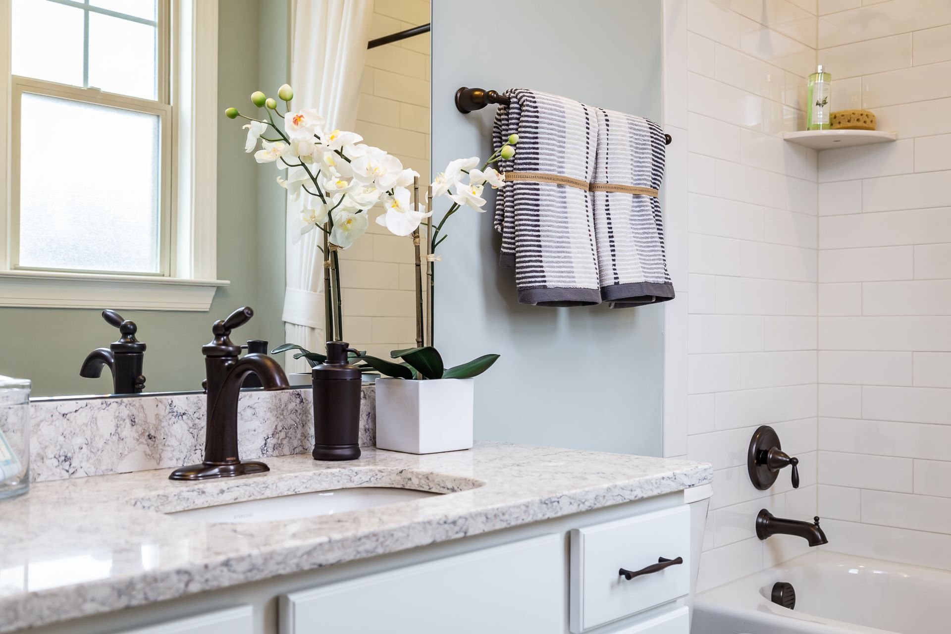 Bathroom-in-Whitman-at-The Villas at Olde Liberty-in-Youngsville