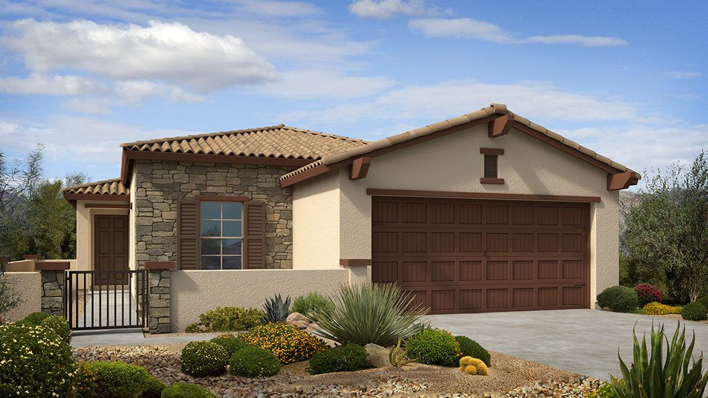 Exterior featured in the Aster II Plan By Taylor Morrison in Phoenix-Mesa, AZ