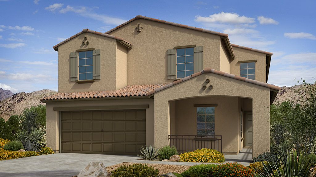 Exterior featured in the Clover II Plan By Taylor Morrison in Phoenix-Mesa, AZ
