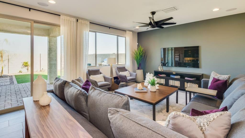 Living Area featured in the Clover II Plan By Taylor Morrison in Phoenix-Mesa, AZ