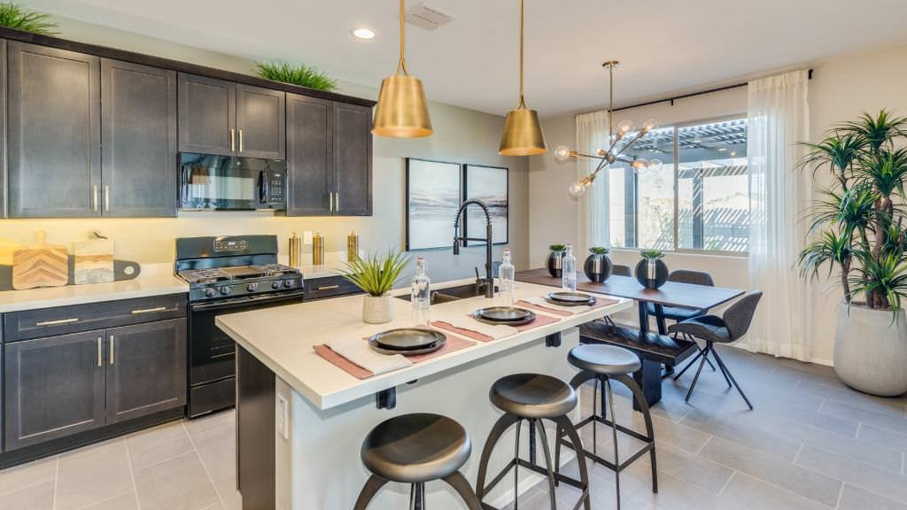 Kitchen featured in the Clover II Plan By Taylor Morrison in Phoenix-Mesa, AZ