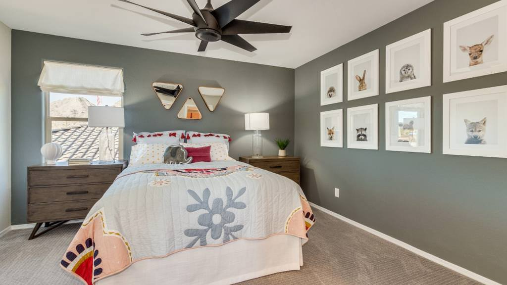 Bedroom featured in the Clover II Plan By Taylor Morrison in Phoenix-Mesa, AZ