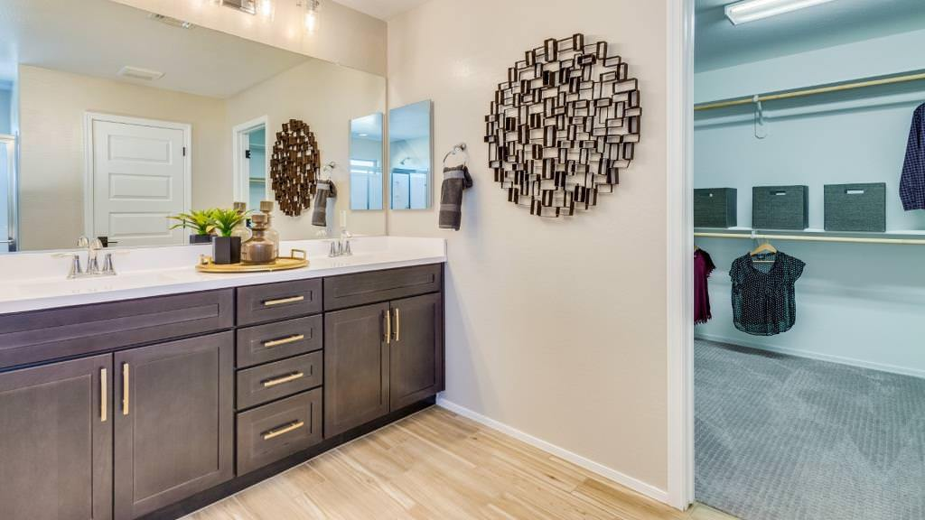 Bathroom featured in the Clover II Plan By Taylor Morrison in Phoenix-Mesa, AZ