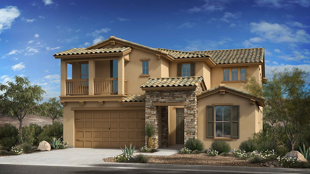 Exterior featured in the Copper II Plan By Taylor Morrison in Phoenix-Mesa, AZ