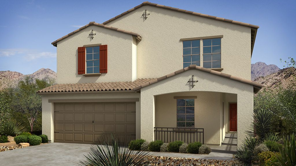 Exterior featured in the Jasmine II Plan By Taylor Morrison in Phoenix-Mesa, AZ