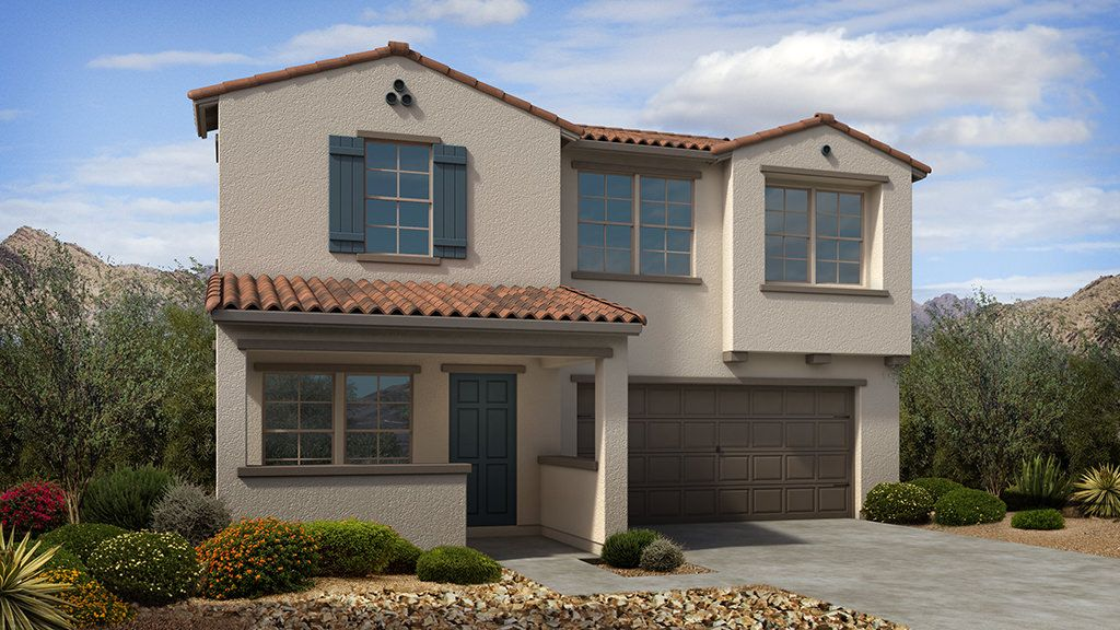 Exterior featured in the Primrose II Plan By Taylor Morrison in Phoenix-Mesa, AZ