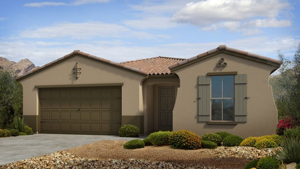 Exterior featured in the Sapphire II Plan By Taylor Morrison in Phoenix-Mesa, AZ