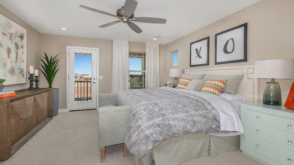 Bedroom featured in the Copper II Plan By Taylor Morrison in Phoenix-Mesa, AZ