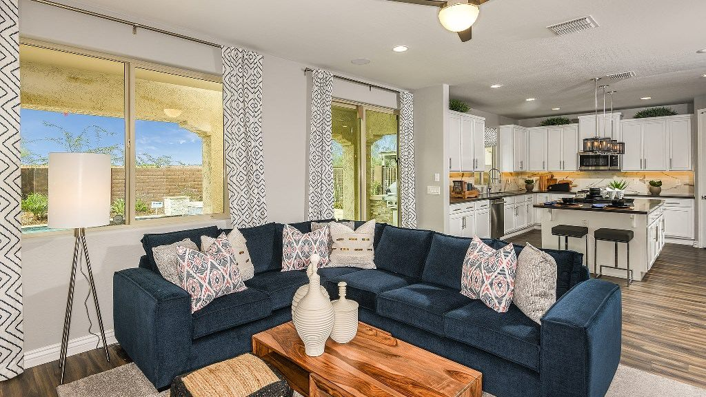 Living Area featured in the Indigo By Taylor Morrison in Phoenix-Mesa, AZ