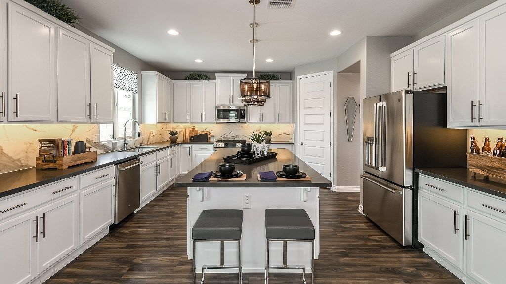 Kitchen featured in the Indigo By Taylor Morrison in Phoenix-Mesa, AZ