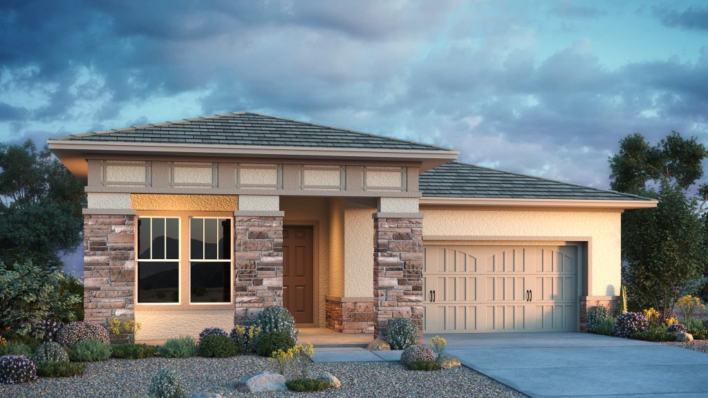 Exterior featured in the Juniper By Taylor Morrison in Phoenix-Mesa, AZ
