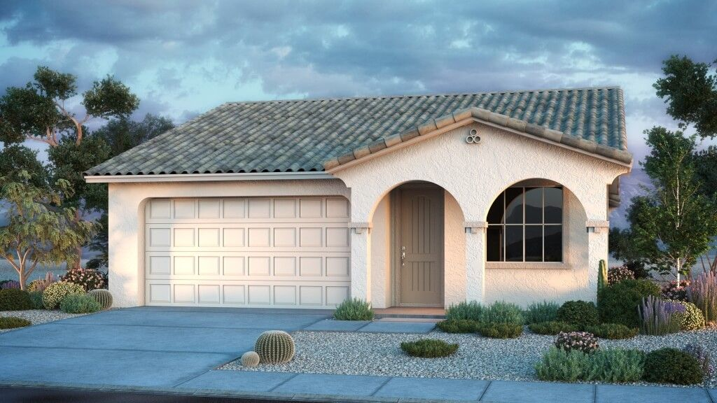 Exterior featured in the Brixton By Taylor Morrison in Phoenix-Mesa, AZ