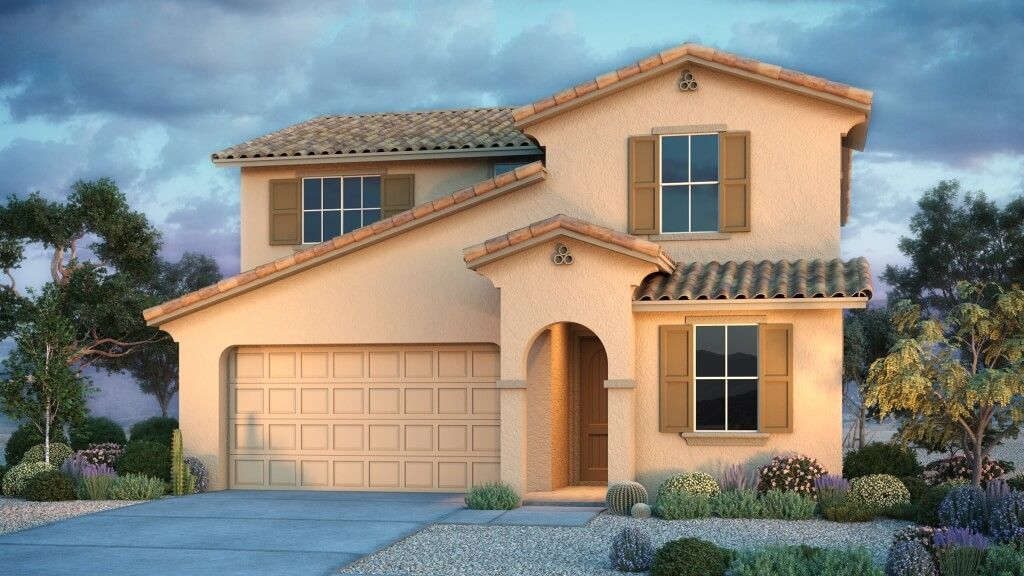 Exterior featured in the Paisley By Taylor Morrison in Phoenix-Mesa, AZ