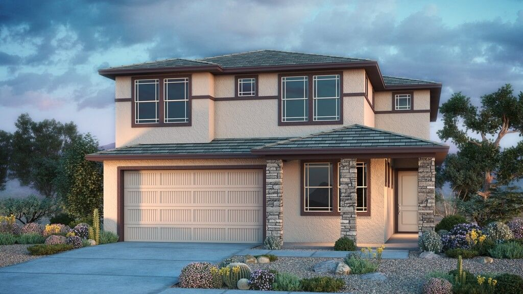 Exterior featured in the Wedgewood By Taylor Morrison in Phoenix-Mesa, AZ
