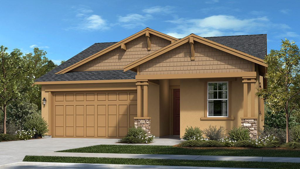 Exterior featured in the Residence 3 By Taylor Morrison in Stockton-Lodi, CA