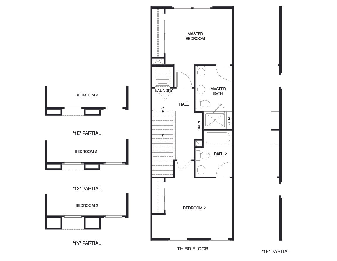 Residence 1 6Sixty Plan Plan at 6Sixty in Mountain View in ... on