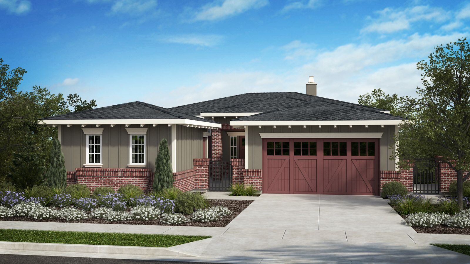 Exterior featured in the Residence 10 Wilder Plan By Taylor Morrison in Oakland-Alameda, CA